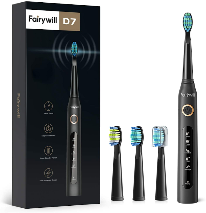 Fairywill D7 Electric Sonic Toothbrush